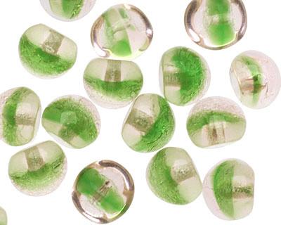 Czech Glass Pickle Juice Teardrop 9x8mm