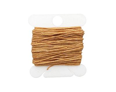 Butterscotch Irish Waxed Linen 3 ply