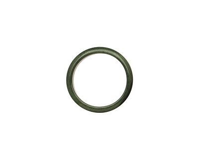 Tagua Nut Forest Green Ring 22mm