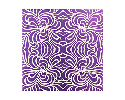Lillypilly Purple Morphed Anodized Aluminum Sheet 3