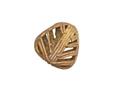 African Brass Leaf 18-20x20mm