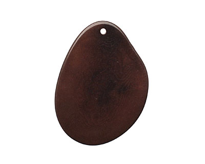 Tagua Nut Espresso Potato Chip 30-37x37-47mm