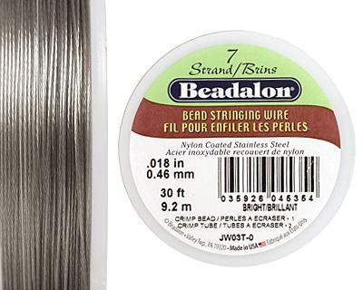 Beadalon Bright .018