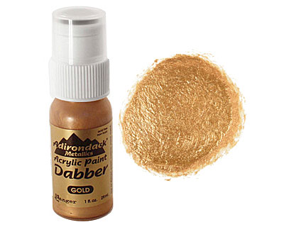 Adirondack Metallic Gold Acrylic Paint Dabber 29ml