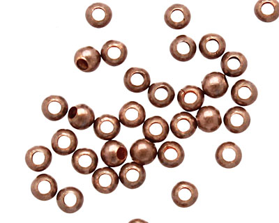 TierraCast Antique Copper Round 2mm