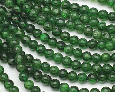 Chrome Diopside Round 5-6mm