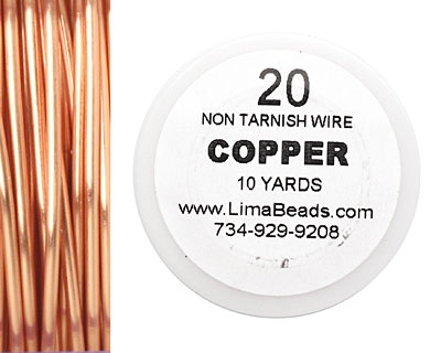 Parawire Non-Tarnish Copper 20 gauge, 10 yards