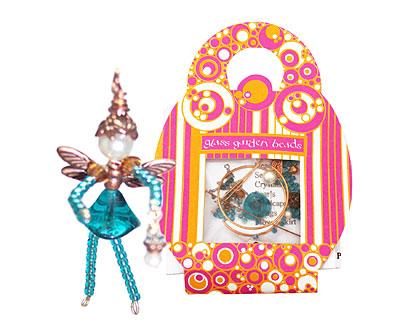 Glass Garden Blue Zircon Fairy Kit