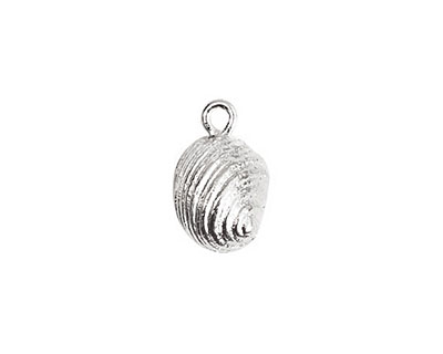 Nunn Design Sterling Silver (plated) Snail Charm 10x16mm