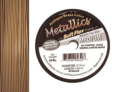 Soft Flex Antique Brass .019