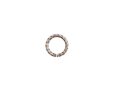 Nunn Design Antique Silver (plated) Textured Jump Ring 9mm, 16 gauge