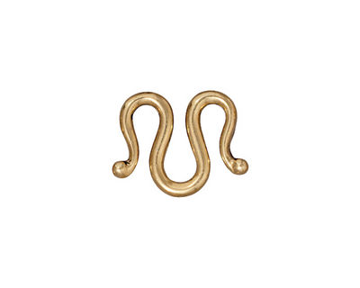 TierraCast Gold (plated) Classic M-Hook 19x13mm