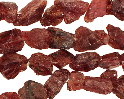 Garnet Rough Nugget 6-11x7-10mm