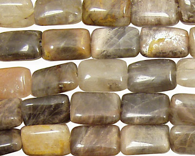 Black Sunstone Thin Pillow 12x8mm