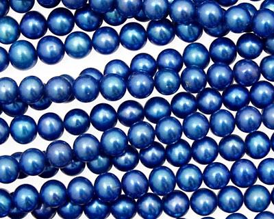 Sea Blue Semi-Round 4.5-5mm