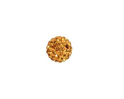 Topaz Pave Round 10mm (1.5mm hole)