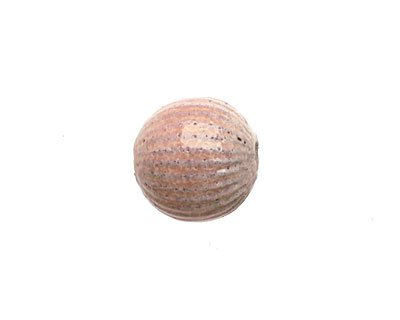 Painting with Fire Torch Fired Enamel Tallow Pink/Geranium Pink Ridge Round 14mm