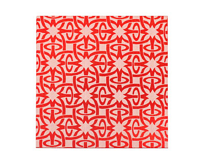 Lillypilly Red Starburst Anodized Aluminum Sheet 3
