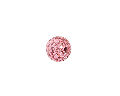 Flamingo Pave Round 10mm