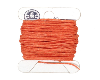 Salmon Irish Waxed Linen 4 ply