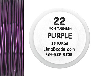 Parawire Purple 22 Gauge, 15 Yards