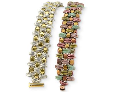 Kilim Cuff Bracelet Pattern
