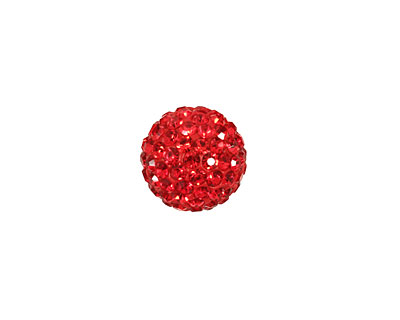Siam Ruby Pave Round 12mm