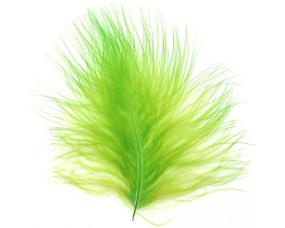 Chartreuse Marabou Feather 100-152mm