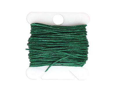 Green Irish Waxed Linen 4 ply