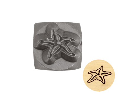 Starfish Metal Stamp 6mm