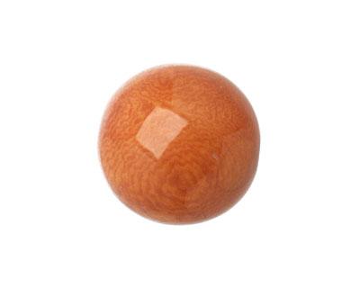 Tagua Nut Caramel Round 20mm