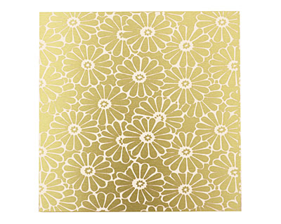 Lillypilly Gold Daisy Anodized Aluminum Sheet 3