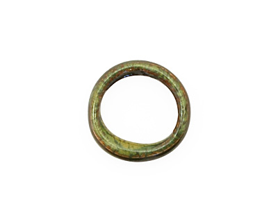 C-Koop Enameled Metal Olive Large Ring 16-17mm