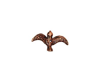Ezel Findings Antique Copper Flying Bird 4x10mm