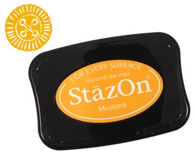 StazOn Mustard Solvent Ink Pad
