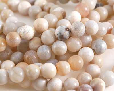 Natural Agate (light) Round 11.5-12mm