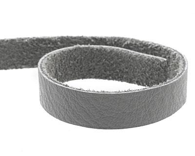 TierraCast Light Gray Leather Strap 10
