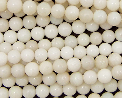 White Opal Round 5-5.5mm