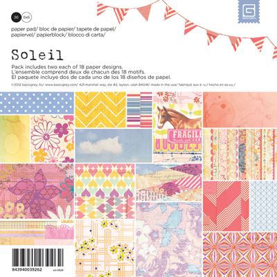 Soleil Paper Pad 6