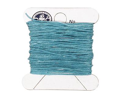 Turquoise Irish Waxed Linen 2 ply