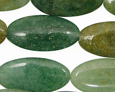 Rainbow Aventurine Flat Oval 30x15mm
