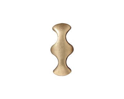 TierraCast Antique Brass (plated) Hourglass 2-Hole Bar 8x19mm