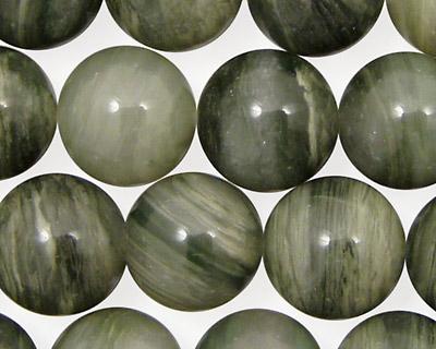 Green Line Quartz Round 14mm