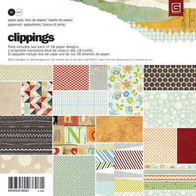Clippings Paper Pad 6