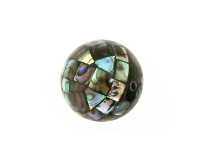 Abalone Mosaic Round 18mm