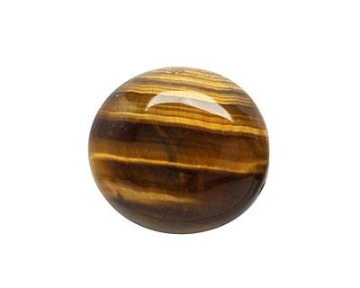 Tiger Eye Puff Oval 23-25x22-23mm