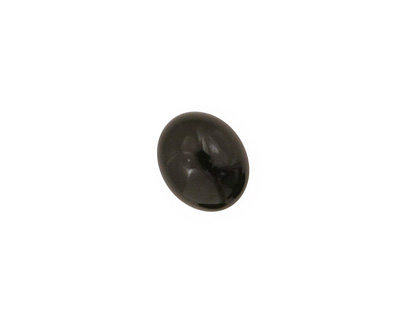 Black Onyx Oval Cabochon 10x12mm