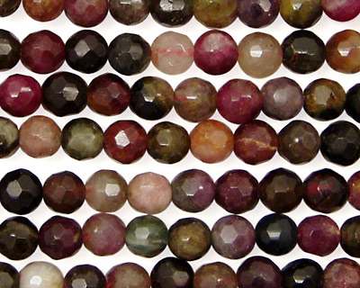Tourmaline Faceted Round 6mm