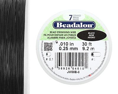 Beadalon Black .010
