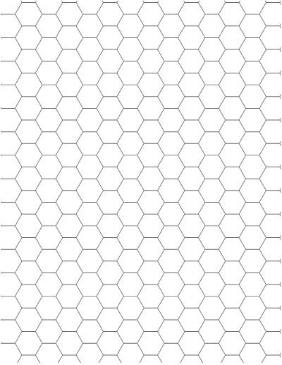 Honeycomb Background Clear Stamp 4.25x5.5